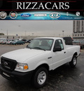 ford ranger 2011 white xl gasoline 4 cylinders 2 wheel drive manual 60546