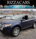ford edge 2012 dk  blue se gasoline 6 cylinders front wheel drive automatic with overdrive 60546