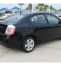 nissan sentra 2008 black sedan 2 0 gasoline 4 cylinders front wheel drive automatic with overdrive 77065
