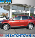 mazda cx 9 2008 black cherry suv grand touring gasoline 6 cylinders all whee drive automatic 07724