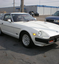datsun 280zx 1981 bright white coupe gasoline 4 cylinders rear wheel drive automatic 67210