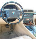bmw 740il 1998 oxford green sedan gasoline 8 cylinders rear wheel drive automatic 67210