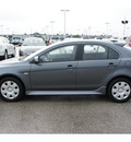 mitsubishi lancer sportback 2011 gray hatchback es gasoline 4 cylinders front wheel drive 5 speed manual 77388