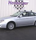 subaru impreza 2009 spark silver hatchback 2 5i premium gasoline 4 cylinders all whee drive automatic 80905