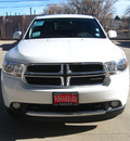 dodge durango 2012 white suv sxt gasoline 6 cylinders all whee drive automatic 80301