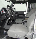 jeep wrangler unlimited 2007 bright silver suv rubicon gasoline 6 cylinders 4 wheel drive automatic 98371