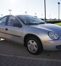 dodge neon 2005 silver sedan se gasoline 4 cylinders front wheel drive automatic 76018