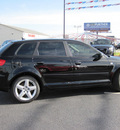 audi a3 2007 black wagon 2 0t gasoline 4 cylinders front wheel drive 6 speed manual 46410