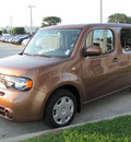 nissan cube 2011 golden ginger suv s gasoline 4 cylinders front wheel drive automatic 33884
