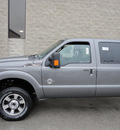 ford f 350 2011 gray super duty lariat 4x4 biodiesel 8 cylinders 4 wheel drive automatic with overdrive 60546