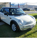 mini cooper 2003 off white hatchback gasoline 4 cylinders front wheel drive automatic 08750