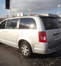 chrysler town country 2008 silver van touring gasoline 6 cylinders front wheel drive automatic 60443