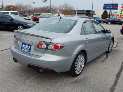 mazda mazdaspeed6 2006 liquid platinum sedan grand touring gasoline 4 cylinders all whee drive 6 speed manual 67210