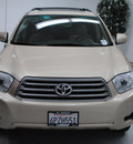 toyota highlander 2010 tan suv gasoline 6 cylinders front wheel drive automatic 91731