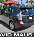 toyota prius 2012 gray wagon v hybrid 4 cylinders front wheel drive automatic 32771