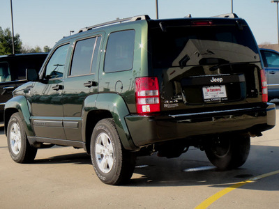 jeep liberty 2011 green suv sport gasoline 6 cylinders 4 wheel drive automatic 62034