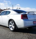 dodge charger 2008 silver sedan srt 8 gasoline 8 cylinders rear wheel drive automatic 80301