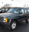 jeep cherokee 1994 hunter green suv sport gasoline 6 cylinders 4 wheel drive automatic with overdrive 07730