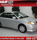 toyota corolla 2007 silver sedan s gasoline 4 cylinders front wheel drive automatic 91731
