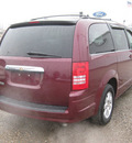 chrysler town and country 2008 dk  red van touring gasoline 6 cylinders front wheel drive autostick 62863