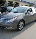hyundai sonata 2012 dk  gray sedan limited 2 0t gasoline 4 cylinders front wheel drive automatic 94010