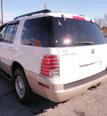 mercury mountaineer 2005 white suv convenience gasoline 6 cylinders all whee drive automatic 28217