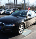 audi a4 2009 black sedan 2 0t quattro gasoline 4 cylinders all whee drive automatic 07701
