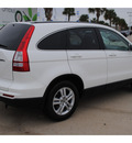 honda cr v 2011 white suv ex l gasoline 4 cylinders all whee drive automatic with overdrive 77065