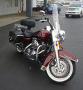 harley davidson flhrc 2008 red road king classic 2 cylinders 6 speed 45342
