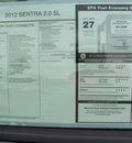 nissan sentra 2012 blue sedan sl gasoline 4 cylinders front wheel drive automatic 33884