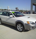 subaru outback 2005 white wagon 2 5 xt limited gasoline 4 cylinders all whee drive automatic 75503