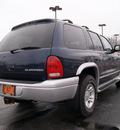 dodge durango 2002 blue suv slt plus gasoline 8 cylinders 4 wheel drive automatic 61008