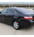 toyota camry 2009 black sedan le gasoline 4 cylinders front wheel drive automatic 77065