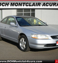 honda accord 2000 silver coupe ex v6 gasoline v6 front wheel drive automatic with overdrive 07044