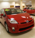 toyota prius 2010 red ii hybrid 4 cylinders front wheel drive automatic 27707