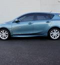 mazda mazda3 2011 blue hatchback s sport gasoline 4 cylinders front wheel drive 6 speed manual 98371