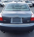 audi a4 2005 dk  gray sedan 1 8t quattro gasoline 4 cylinders all whee drive automatic 06019