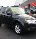 subaru forester 2009 steel silver suv 2 5 x limited gasoline 4 cylinders all whee drive automatic 07701