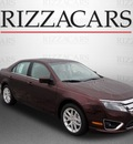 ford fusion 2012 dk  red sedan sel gasoline 4 cylinders front wheel drive automatic with overdrive 60546