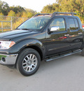 nissan frontier 2012 black sl gasoline 6 cylinders 2 wheel drive automatic 33884