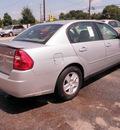 chevrolet malibu 2005 silver sedan ls gasoline 6 cylinders front wheel drive automatic 28217