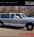 ford f 250 1996 white pickup truck sc xlt diesel v8 rear wheel drive automatic with overdrive 55318