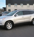 chevrolet traverse 2011 silver lt awd dvd gasoline 6 cylinders all whee drive automatic 55124