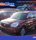 buick rendezvous 2006 red suv cxl gasoline 6 cylinders front wheel drive automatic 34474