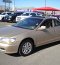 honda accord 2001 gold coupe ex gasoline 6 cylinders front wheel drive automatic 79925