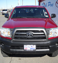 toyota tacoma 2008 red prerunner gasoline 6 cylinders 2 wheel drive automatic 79925