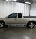 gmc canyon 2009 pewter pickup truck sle 1 gasoline 5 cylinders 2 wheel drive automatic 76108