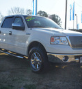 ford f 150 2008 white lariat flex fuel 8 cylinders 4 wheel drive automatic 27569