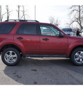 ford escape 2012 red suv xlt flex fuel 6 cylinders front wheel drive 6 speed automatic 46168