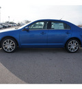 ford fusion 2012 blue sedan se gasoline 4 cylinders front wheel drive 6 speed automatic 46168